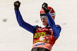 Karl Geiger (GER) during the Ski Flying Hill Men's Team Competition at Day 3 of FIS Ski Jumping World Cup Final 2017, on March 25, 2017 in Planica, Slovenia. Photo by Grega Valancic / Sportida