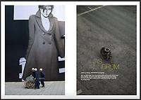 Akzo-Nobel magazine double spread by Lionel Derimais - A.D: David Lichtneker