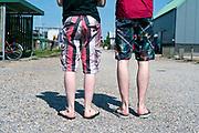 early summer white legs