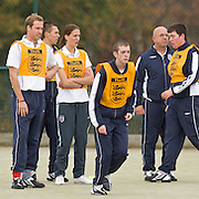 Prince William visits the Football Association Hat Trick Project in Newcastle and meet young people from Centrepoint participating in the course, at West Gate Community College Centre For Sport, Newcastle.  Thursday 18th October 2007..