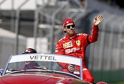 March 17, 2019 - Melbourne, Australia - Motorsports: FIA Formula One World Championship 2019, Grand Prix of Australia, ..#5 Sebastian Vettel (GER, Scuderia Ferrari Mission Winnow) (Credit Image: © Hoch Zwei via ZUMA Wire)