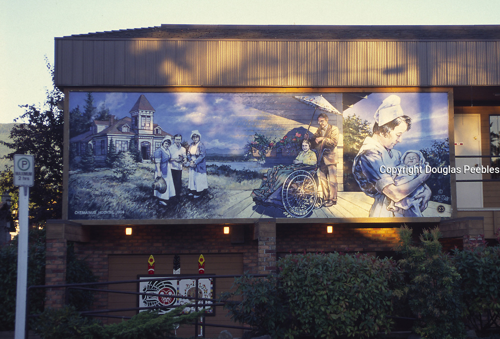 Wall Mural, Chemainus, British Columbia, Canada<br />