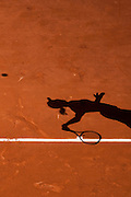 Roland Garros 2011. Paris, France. May 22nd 2011..Czech player Renata VORACOVA against Alize CORNET..