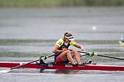 Lucerne, SWITZERLAND,  2016 FISA WCII, CAN W1X Carling ZEEMAN, Lake Rotsee Lake Rotsee, Sunday, 29/05/2016,<br /> [Mandatory Credit; Peter SPURRIER/Intersport-images]