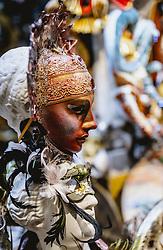 THEMENBILD - Venezianische Masken, aufgenommen am 03. Oktober 2019 in Venedig, Italien // Venetian Masks in Venice, Italy on 2019/10/03. EXPA Pictures © 2019, PhotoCredit: EXPA/ JFK