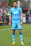 portrait Cheltenham Town Midfielder Liam Sercombe(26) during the EFL Sky Bet League 2 match between Stevenage and Cheltenham Town at the Lamex Stadium, Stevenage, England on 20 April 2021.