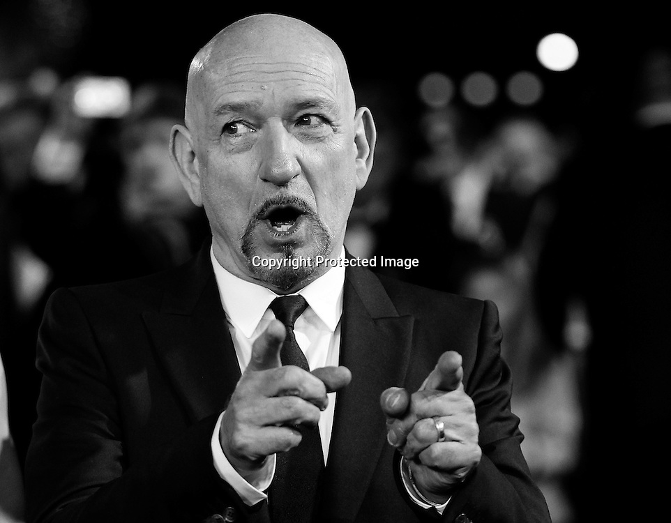 British actor and cast member, Sir Ben Kingsley arrives for Royal film premiere of Hugo at the Odeon Leicester Square in London, Britain, 28 November 2011. The movie was directed by US Martin Scorsese.  EPA/KERIM OKTEN
