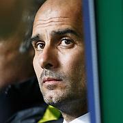 Celtic v Manchester City.    Man City manager Pep Guardiola. 28/09/16