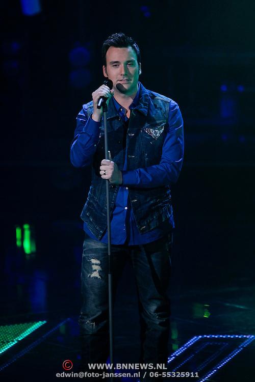 NLD/Hilversum/20120120 - Finale the Voice of Holland 2012, Chris Hordijk