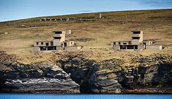 WW 11 gun emplacements on South Ronaldsay, Orkney Islands<br /> <br /> (c) Andrew Wilson | Edinburgh Elite media