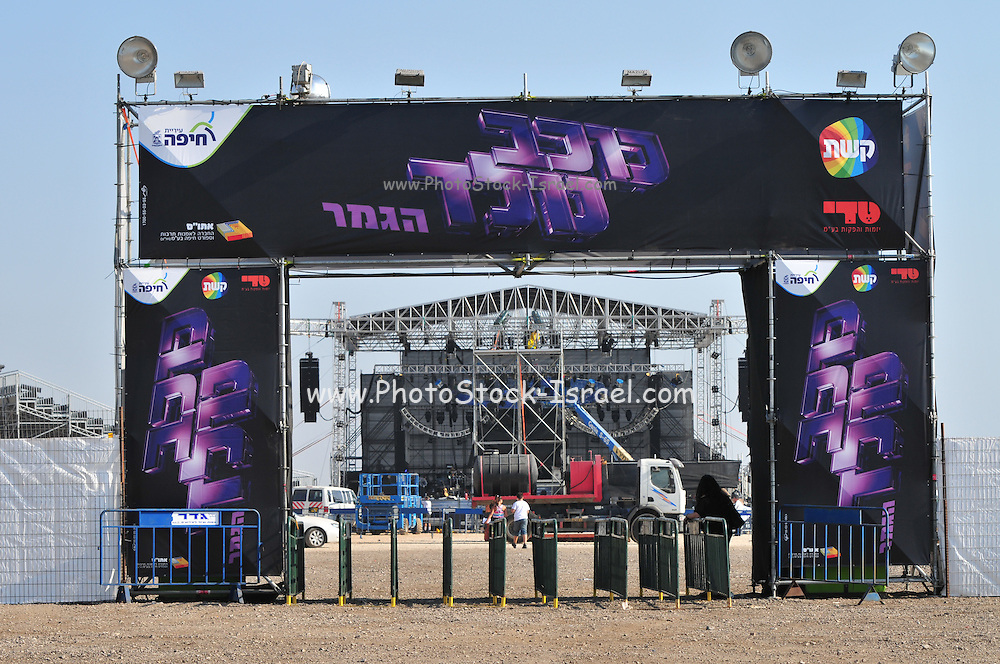 Kochav Nolad (A Star is Born) The Israeli Version of American Idol. The finals Haifa, July 2011