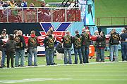 during a XFL professional football game, Saturday, February 9, 2020, at Globe Life Park, Arlington Texas. he  Battlehawks defeated the Renegades 15-9. (Wayne Gooden/Image of Sport)