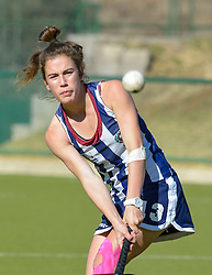 Griet van Jaarsveld of HMS Bloemhof during day two of the FNB Private Wealth Super 12 Hockey Tournament held at Oranje Meisieskool in Bloemfontein, South Africa on the 7th August 2016, <br /> <br /> Photo by:   Frikkie Kapp / Real Time Images