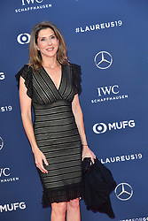 February 18, 2019 - Monaco, Monaco - Monica Seles arriving at the 2019 Laureus World Sports Awards on February 18, 2019 in Monaco  (Credit Image: © Famous/Ace Pictures via ZUMA Press)