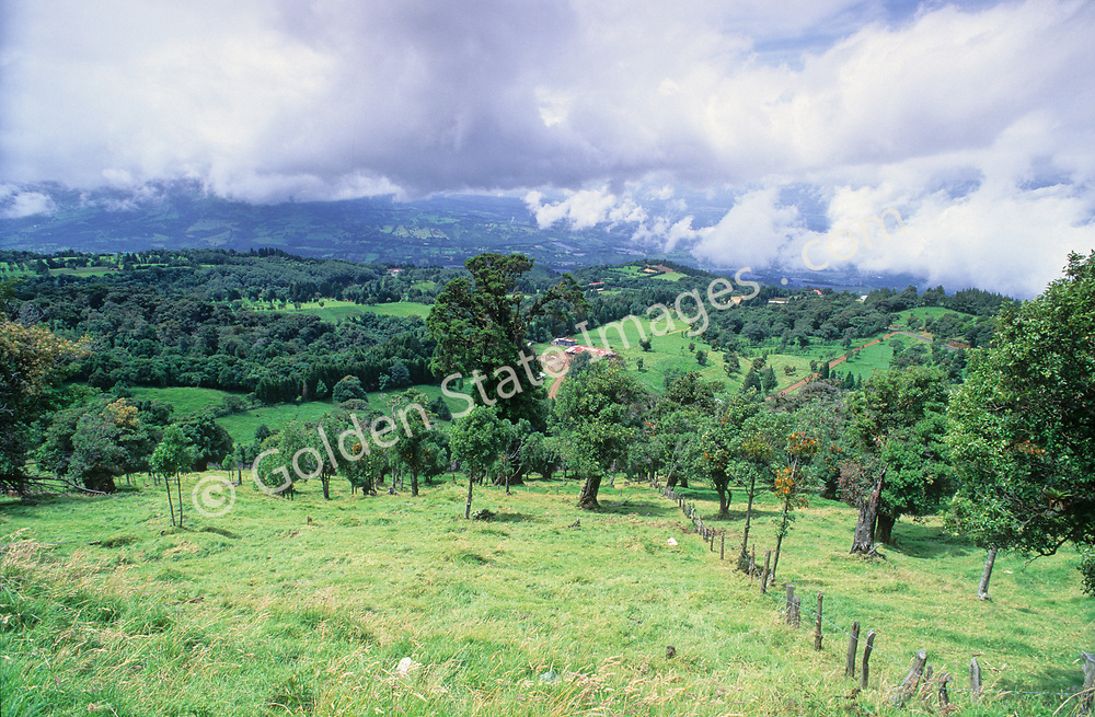 Outside of the capital city of San Jose.<br /> <br /> Costa Rica, located in Central America near Nicaragua, Panama and Ecuador with coastline on the Pacific Ocean and the Caribbean. <br /> <br /> Its has thriving ecotourism including hiking, kayaking, fishing and scuba diving adventures.