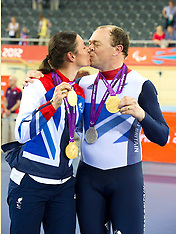 Medal Winners  Husband and wife Barney and Sarah Storey 2-9-12