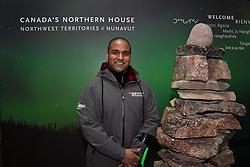 Yukoner Ramesh Ferris volunteers at Canada's Northern House
