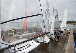 Caledonia MacBrayne Largs Regatta Week 2016<br /> <br /> Largs Sailing Club slipway<br /> <br /> Credit Marc Turner / PFM Pictures.co.uk