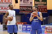 Drake Diener Diminique Archie<br /> Betaland Capo D'Orlando allenamento precampionato<br /> Lega Basket Serie A 2016/2017 <br /> Capo D'Orlando 02/09/2016<br /> Foto Ciamillo-Castoria
