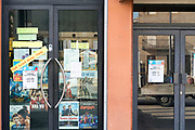 closed rural cinema during the Covid 19 crisis and lockdown France Limoux April 2020