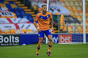 Kellan Gordon of Mansfield Town (12) during the The FA Cup match between Mansfield Town and Dagenham and Redbridge at the One Call Stadium, Mansfield, England on 29 November 2020.