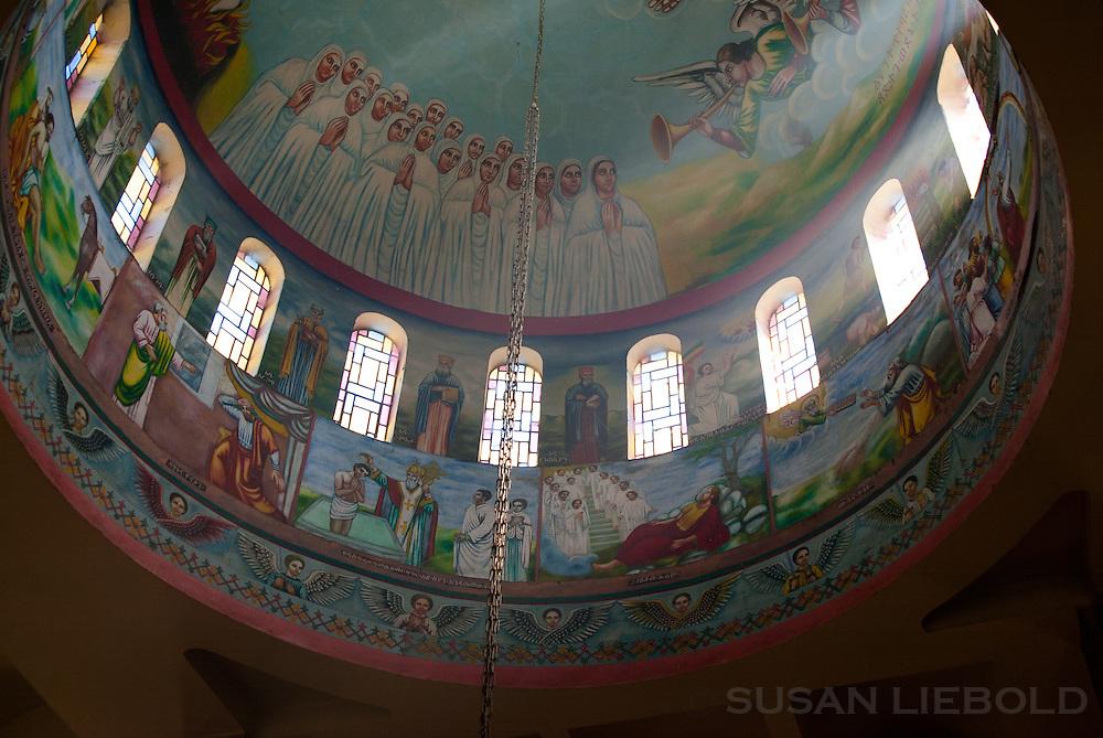 Dome in St. Gabriel's church, Kulubi, Ethiopia.