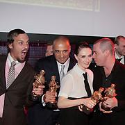 NLD/Amsterdam/20110328 - Uitreking Rembrandt Awards 2011, Winnaars Rembrandt Awards