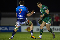 March 22, 2019 - Ireland - Peter Robb of Connacht pictured in action with Giovanni Pettinelli of Benetton during the Guinness PRO14 match between Connacht Rugby and Benetton Rugby at the Sportsground in Galway, Ireland on March 22, 2019  (Credit Image: © Andrew Surma/NurPhoto via ZUMA Press)
