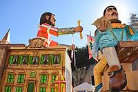 Royal float servants castle carnival