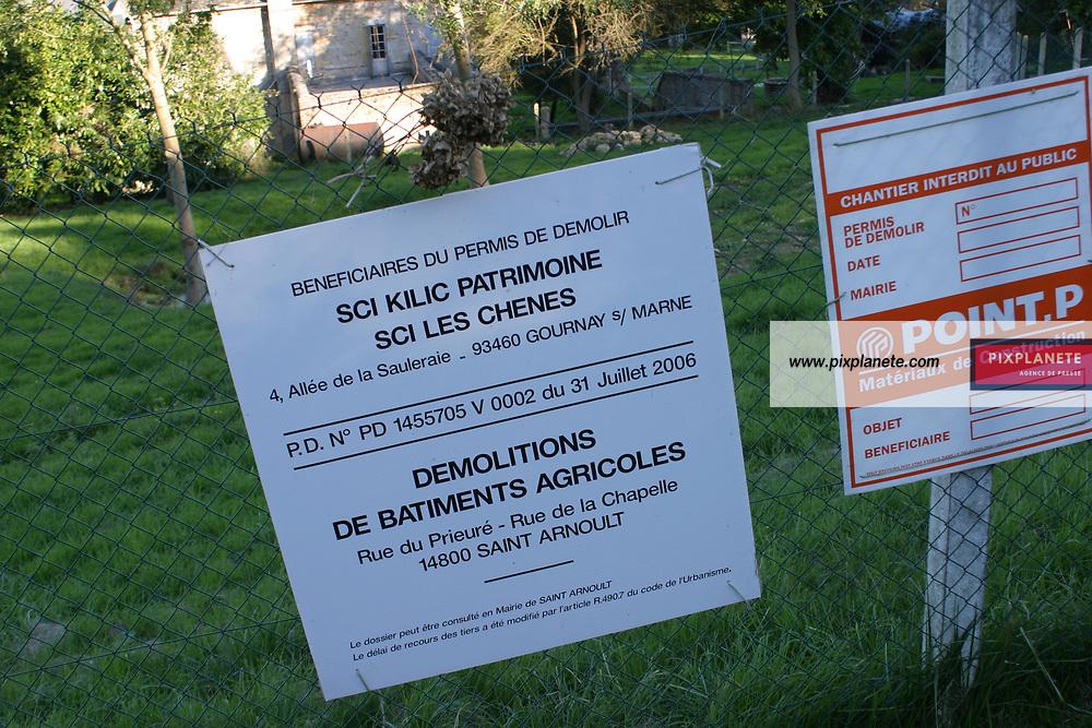 Illustration sur l'immobilier en Normandie - Construction promotion immobilière - octobre 2007 - JSB / PixPlanete