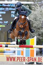 09.2, Youngster-Springprfg. Kl. M** 8j. Pferde,Ehlersdorf, Reitanlage Jörg Naeve, 29.04. - 02.05.2021,, Laura Aromaa (FIN), MG Lompacco,