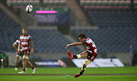 Rugby Union - 2017 European Rugby Challenge Cup Final - Gloucester vs. Stade Francais<br /> <br /> Billy Burns of Gloucester scores a conversion during the match at Murrayfield.<br /> <br /> COLORSPORT/LYNNE CAMERON