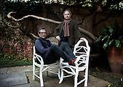 Milan, fashion designer Stefan Janson and writer Umberto Pasti.