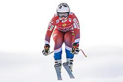11.01.2020, Keelberloch Rennstrecke, Altenmark, AUT, FIS Weltcup Ski Alpin, Abfahrt, Damen, im Bild Iulija Pleshkova (RUS) // Iulija Pleshkova of Russian Federation in action during her run for the women's Downhill of FIS ski alpine world cup at the Keelberloch Rennstrecke in Altenmark, Austria on 2020/01/11. EXPA Pictures © 2020, PhotoCredit: EXPA/ Johann Groder