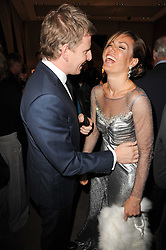 TARA PALMER-TOMKINSON and PATRICK KIELTY at a party to celebrate the publication of Inheritance by Tara Palmer-Tomkinson at Asprey, 167 New Bond Street, London on 28th September 2010.