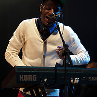 Labrinth performing on the opening night of the 1Xtra Live tour at Manchester's O2 Apollo, 2011-11-28