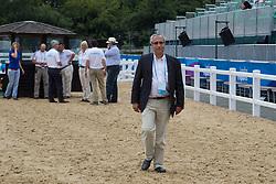 Caulier Virginie (BEL) - Nepal de Sudre<br /> <br /> CIC2* Greenwich Park Eventing Invitational<br /> <br /> Olympic Test Event - London 2011<br /> <br /> © Dirk Caremans