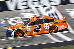 September 14, 2018 - Las Vegas, Nevada, United States of America - Brad Keselowski (2) brings his race car down the front stretch during practice for the South Point 400 at Las Vegas Motor Speedway in Las Vegas, Nevada. (Credit Image: © Chris Owens Asp Inc/ASP via ZUMA Wire)