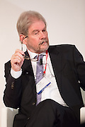 Michael Reid listening Mariano Rajoy speech