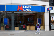 Matre Bank on 14th April 2021 in London, United Kingdom. Metro Bank will be introducing Customers to unparalleled levels of service and convenience. This unique retail banking model, created by Metro Banks founder Vernon W. Hill, revolutionised banking in the United States.