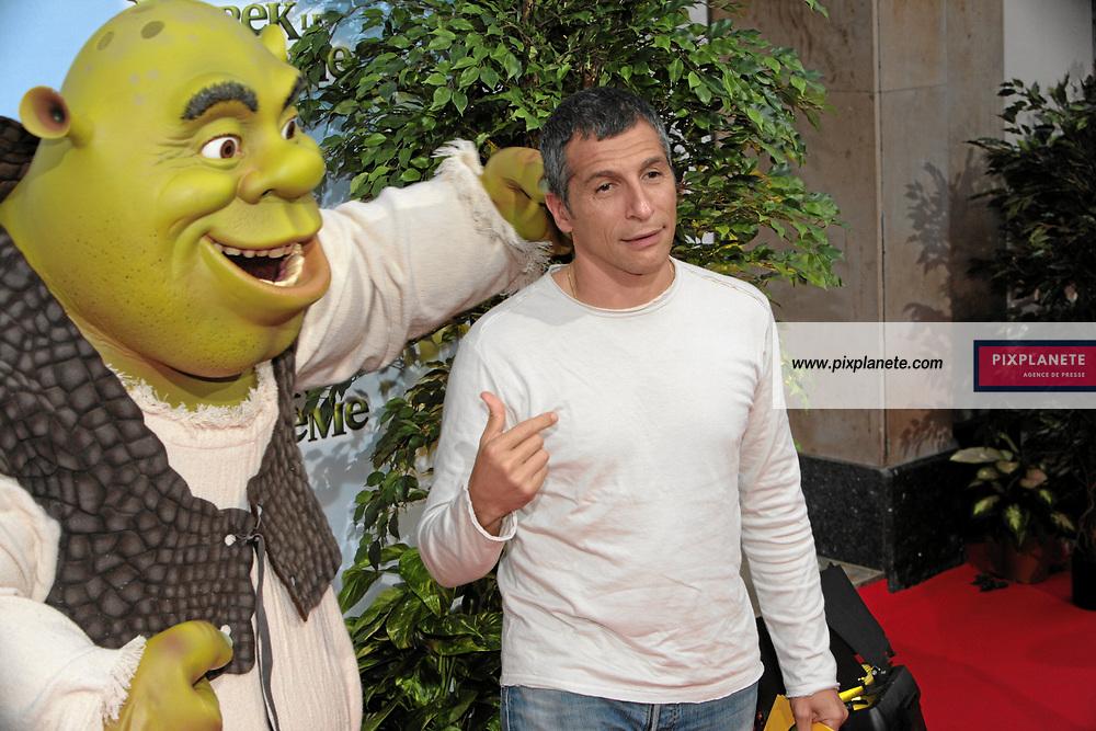 Shrek - Nagui - Avant Première à Paris du troisième volet de Shrek - 7/6/2007 - JSB / PixPlanete
