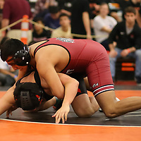 Edwin Martinez Mejia of Fremont in the 2018 SCVAL Wrestling Finals (182)(Photo by Bill Gerth)