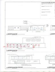 Sarah Gibbons Middle School Pre-Demolition Documentation. Key Plan Number 10 of 15