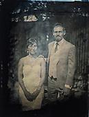 Wedding Tin Type portraits