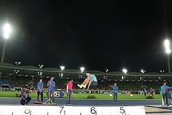 26.08.2013, Stadion der Stadt Linz, AUT, Gugl Games 2013, Weitsprung der Herren, im Bild Alexander Menkov (RUS) // during men's long jump of the Gugl Games 2013 at Stadium der Stadt Linz, Austria on 2013/08/26, EXPA Pictures © 2013, PhotoCredit: EXPA/ Martin Huber