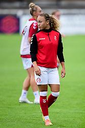 Ebony Salmon of Bristol City prior to kick off  - Mandatory by-line: Ryan Hiscott/JMP - 06/09/2020 - FOOTBALL - Twerton Park - Bath, England - Bristol City Women v Everton Ladies - FA Women's Super League