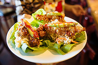 Hawaiian BBQ. Crescent City, California.