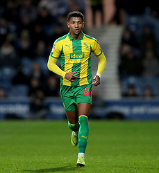 West Bromwich Albion's Mason Holgate in action during the Sky Bet Championship match at Loftus Road, London.