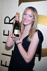 JADE PARFITT at the opening of the Atelier Moet pop-up boutique, 70 New Bond Street, London on 3rd December 2008.