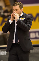 17.05.2015, Walfersamhalle, Kapfenberg, AUT, ABL, ece Bulls Kapfenberg vs magnofit Guessing Knights, 3. Semifinale, im Bild Head Coach, Matthias Zollner (Guessing) // during the Austrian Basketball League, 3th semifinal, between ece Bulls Kapfenberg and magnofit Guessing Knights at the Sportscenter Walfersam, Kapfenberg, Austria o00000n 2015/05/17, EXPA Pictures © 2015, PhotoCredit: EXPA/ Dominik Angerer
